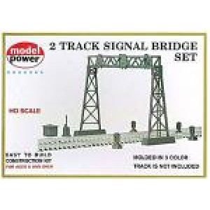 Model Power Railroad Signal Bridge Kit HO