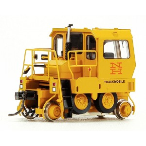 Broadway Limited Imports HO 6014 Track mobile Industrial Switcher, DCC Equipped, New Haven (yellow, orange NH Logo) New In Box