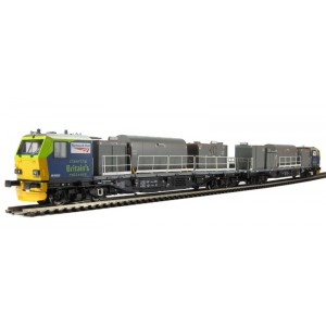 Bachmann Branchline  Windhoff MPV Multi-Purpose master and slave units in 'Network Rail' livery 21 pin dcc ready