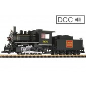 PIKO  CN 0-6-0 Loco & Tender , with Dcc Sound and Smoke