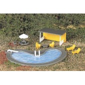 Bachmann HO  Swimming Pool and Accessories
