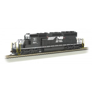 Bachmann HO  EMD SD40-2, NORFOLK SOUTHERN #3411 Thoroughbred (DCC Equipped)