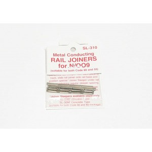 Peco Products  Rail Joiners/Fishplates for N & OO9 gauge (24 per pack)