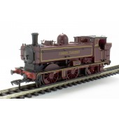 Bachmann Branchline London Transport Maroon Pannier Steam Locomotive Dcc Fitted (Pre-owned Like new No Box)
