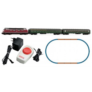 Piko Model Train H0 57132 DB IV BR220 Passenger Starter Set