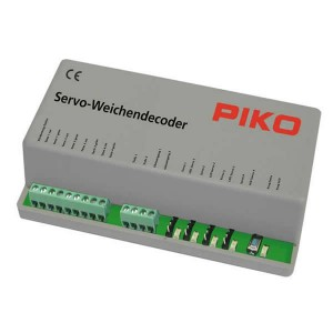 PIKO  55274 Servo Switch Decoder for Servo Machines For connecting up to 4 PIKO Motors
