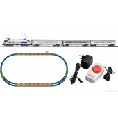 PIKO Model Train  97906 HO SCALE 1:87 Piko  Starter Set Taurus + 3 IC Pass.Cars, PKP VI With Station Loop