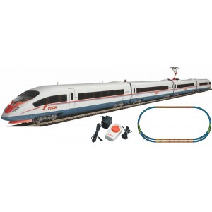 "Piko Model Train  H0 Starter set with Railbed ICE 3 ""Sapsan"" 97927"