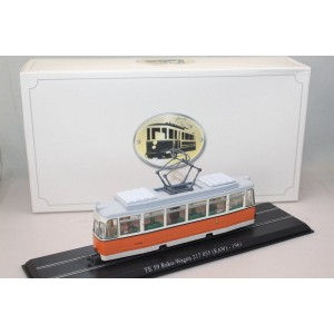 Atlas Static Tram Model Te 59Reko-wagen 217055 (Raw)-1961