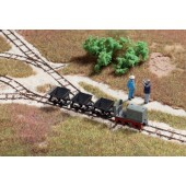 Walthers  Locomotive, Track & Car Set - Light Industrial Rail Series -- Kit