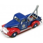 Classic Metal Works Ho scale  1941 Chevrolet Tow Truck - Red Crown Oil