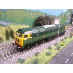 Bachmann Branchline 31-656 Class 47/0 47256 in BR Green with Full Yellow Ends Dcc Fitted (Pre owned Like New In Damaged Box )