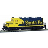 Mantua Classics HO  EMD GP-20, Santa Fe #3036  (DCC and Sound Equipped With RF Remote)