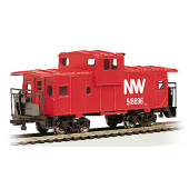 Bachmann N scale  36' Wide-Vision Caboose Norfolk & Western RAPIDO COUPLER