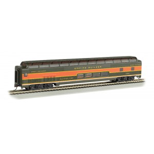 Bachmann 85' Smooth Side Full-dome Passenger Car- Great Northern