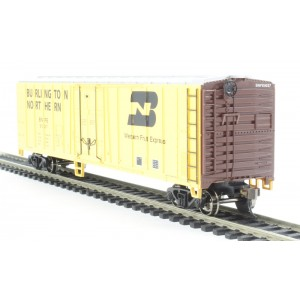 Bachmann USA  50ft Steel Reefer Wagon in Burlington Livery