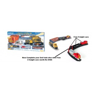 Bachmann Trains 00501 Digital Commander Ready - To - Run DCc - Equipped Ho Train Set With Free 3 Freight Cars