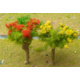 DSM Colored Mixed Small Wire Tree x 10 pcs