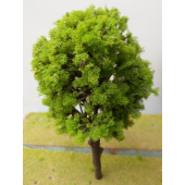 DSM Light Green Big Plastic Tree x 1 pc