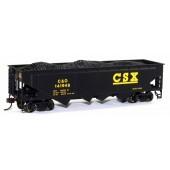 Bachmann Silver Series HO  40' Quad Hopper, CSX (C&O) #141948